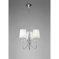 Suspension design Loewe 3 Lampes
