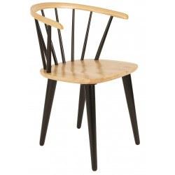 """2 Chaises design """"GEE"""" en bois - Lot de deux"""