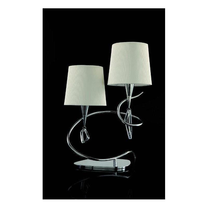 Lampe à poser design double abat-jour Mara