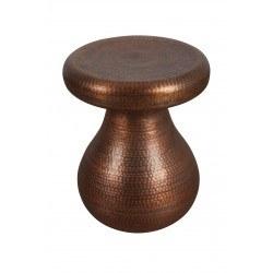 Petit meuble d'appoint cuivre antique martelé - zuiver