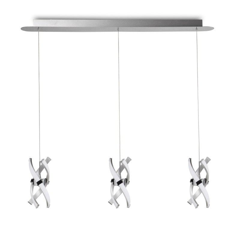 Suspension Espirales 3 Lampes en ligne