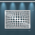 Miroir design Illusion de bulles