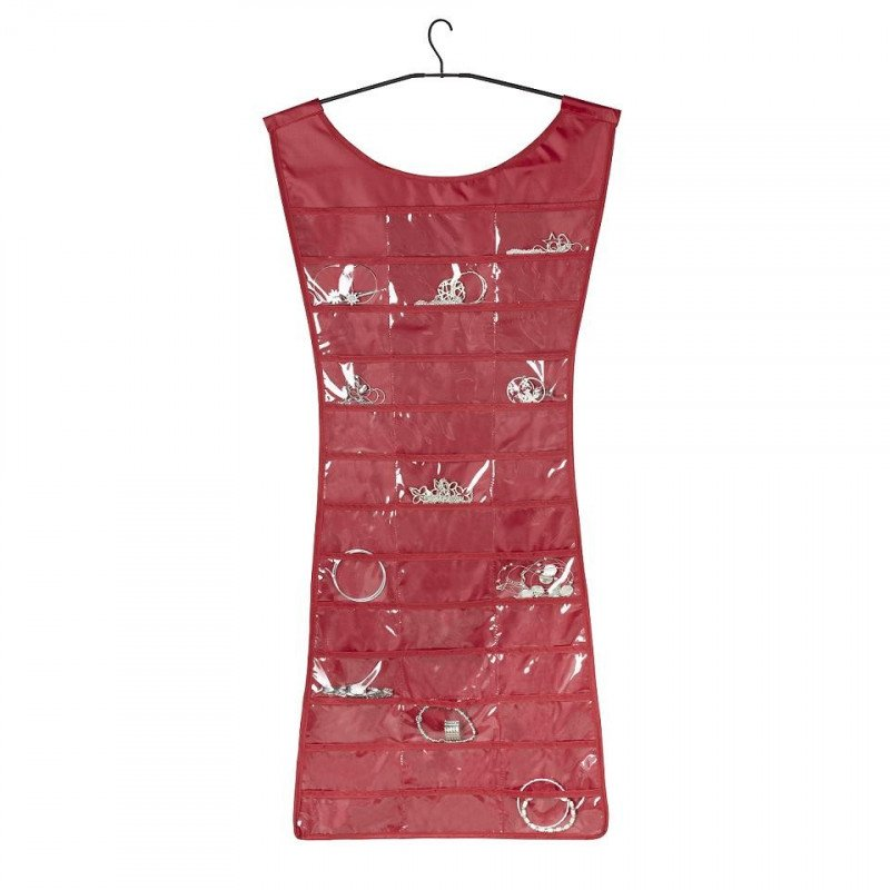 "Robe porte bijoux design ""little red dress"""