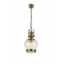 Suspension vintage ronde