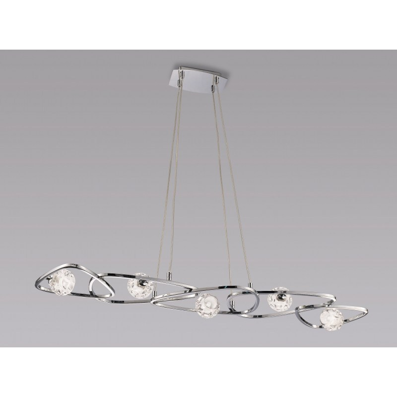 Suspension design Lux 5 Lampes