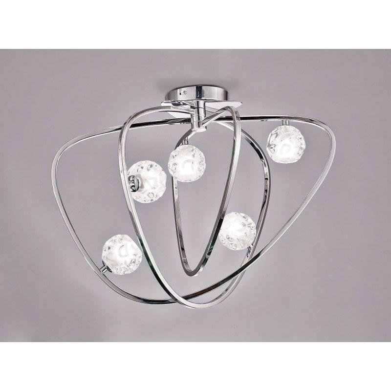 Plafonnier design Lux 5 Lampes
