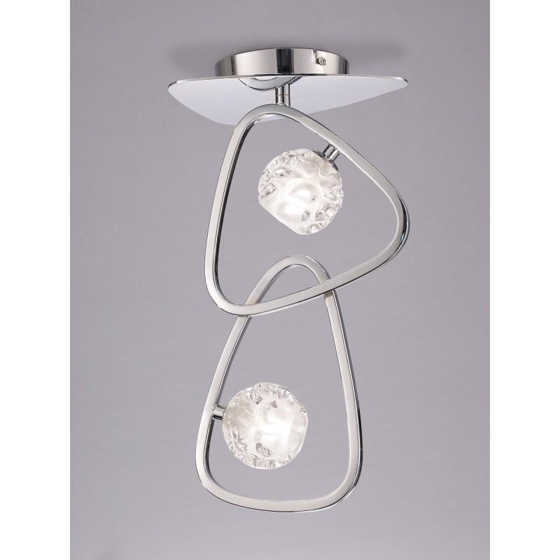 Plafonnier design Lux 2 Lampes