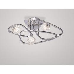 Plafonnier design Lux 3 Lampes
