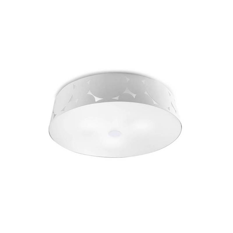 Grand plafonnier Trama design Blanc