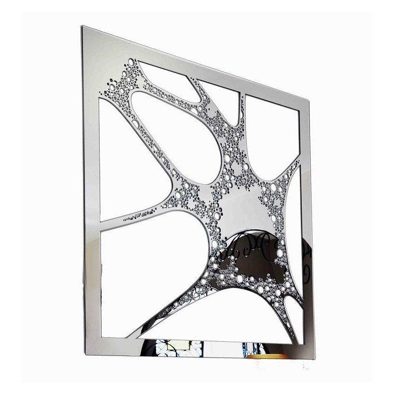 Miroir design en métal - Blob-