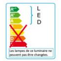 Lampe de bureau Cosmix S technologie led Aluminor