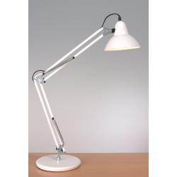 Grande lampe à poser articulée architecte LD95 Aluminor