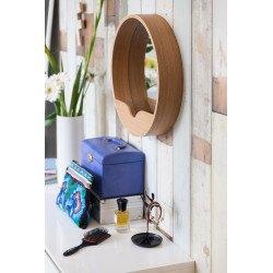 Miroir Round wall en bois Zuiver
