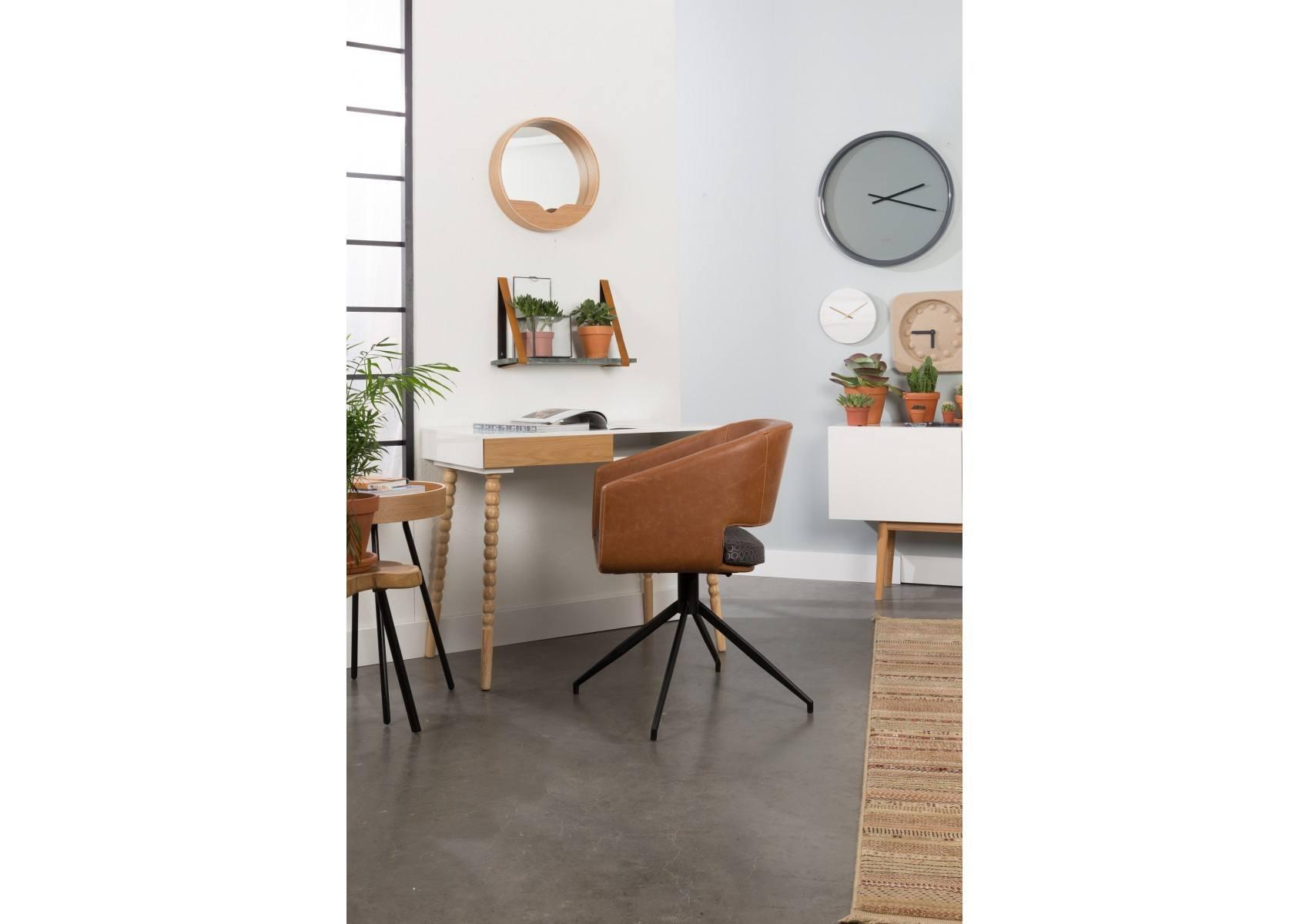 fauteuil look industriel beau par zuiver boite design. Black Bedroom Furniture Sets. Home Design Ideas