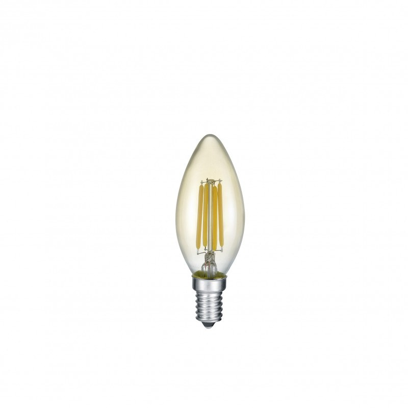 Ampoule LED E14 Déco filament bougie 4W