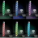 Lampadaire design Totem Led et Halogène