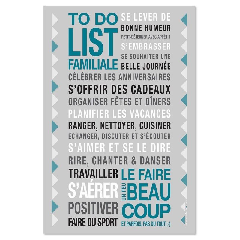 Sticker papier  To Do List - 45-30 cm