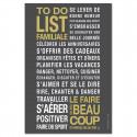 Sticker papier  To Do List - Gris carbone - 60-40 cm