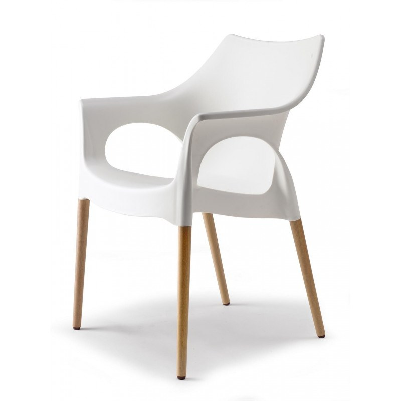 Chaise Scab: Chaise Natural Ola Design Par Scab