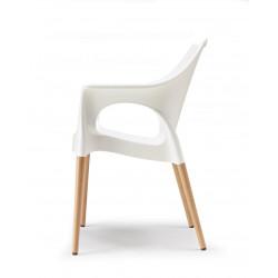 Chaise Natural Ola design par Scab