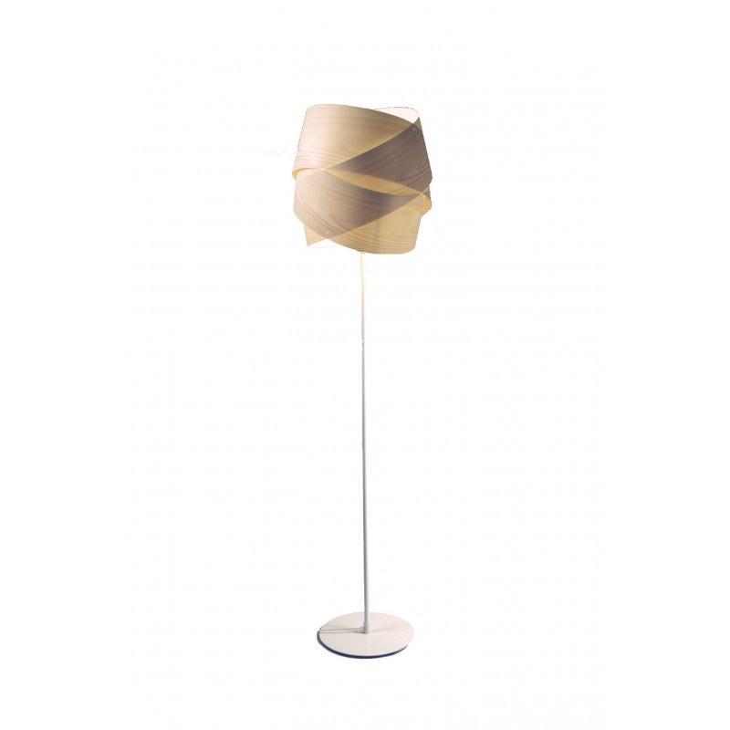 Lampadaire design Turban ls réglable en hauteur Aluminor
