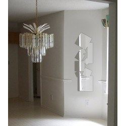 Miroir carrés design allongés