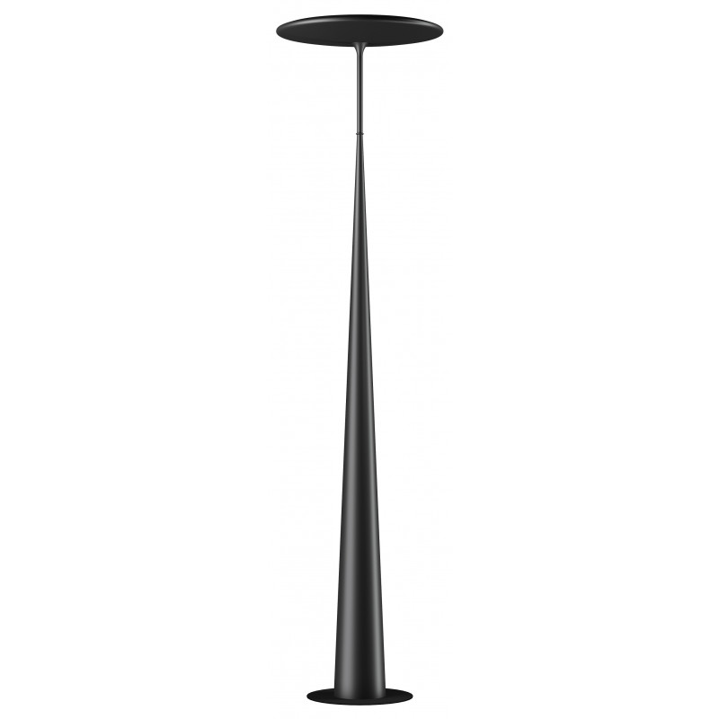 Lampadaire led design lotus ls metal