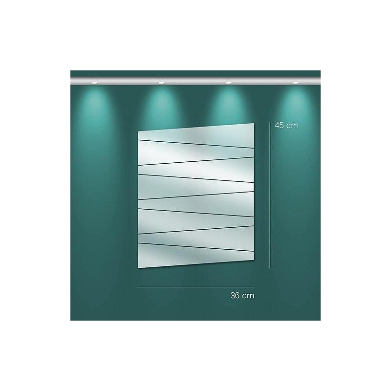 Miroir Lames trapèze  design