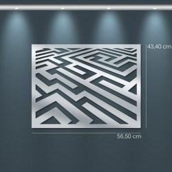 Miroir design labyrinthe