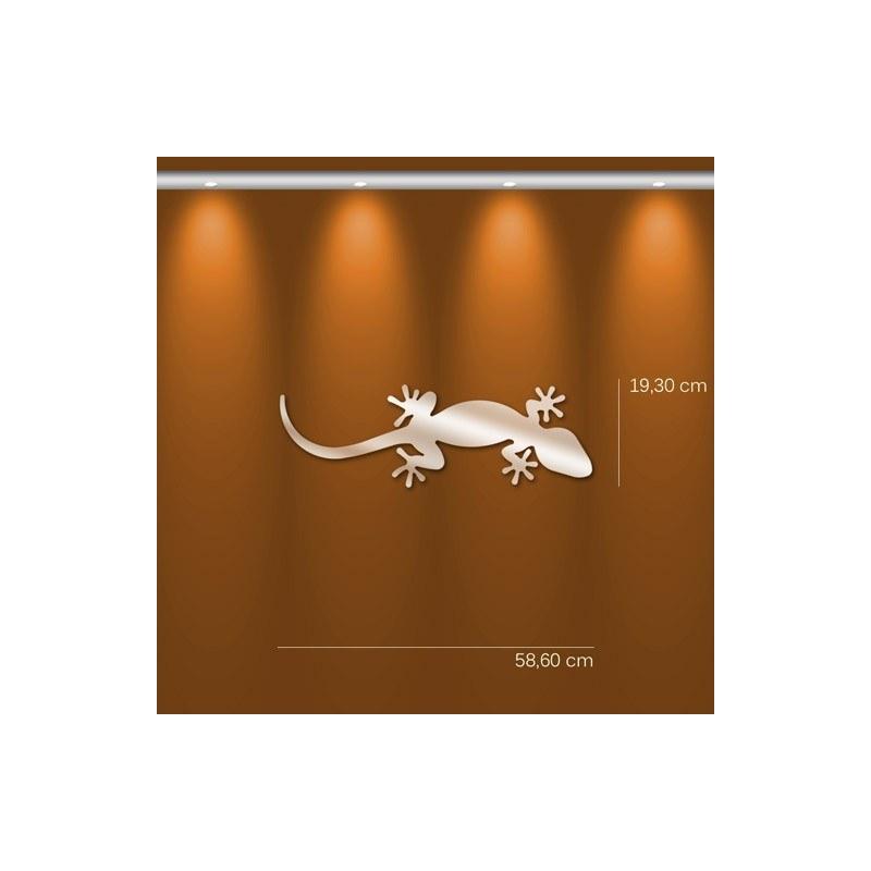 Miroir salamandre gekko design en acrylique