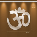 Miroir bouddhiste AUM deco design en acrylique