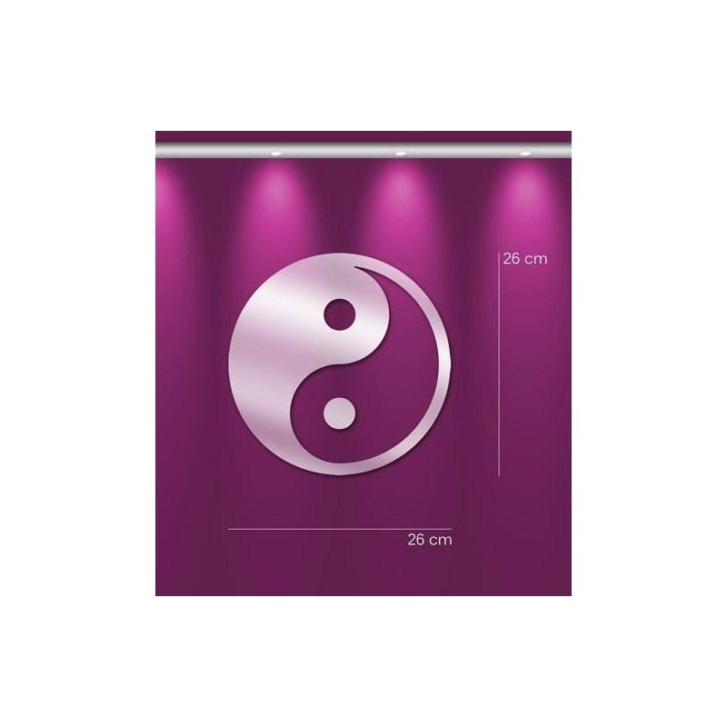 Miroir yin yang chinois deco murale