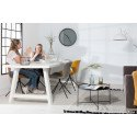 2 Chaises design OMG LL imitation cuir - lot de 2
