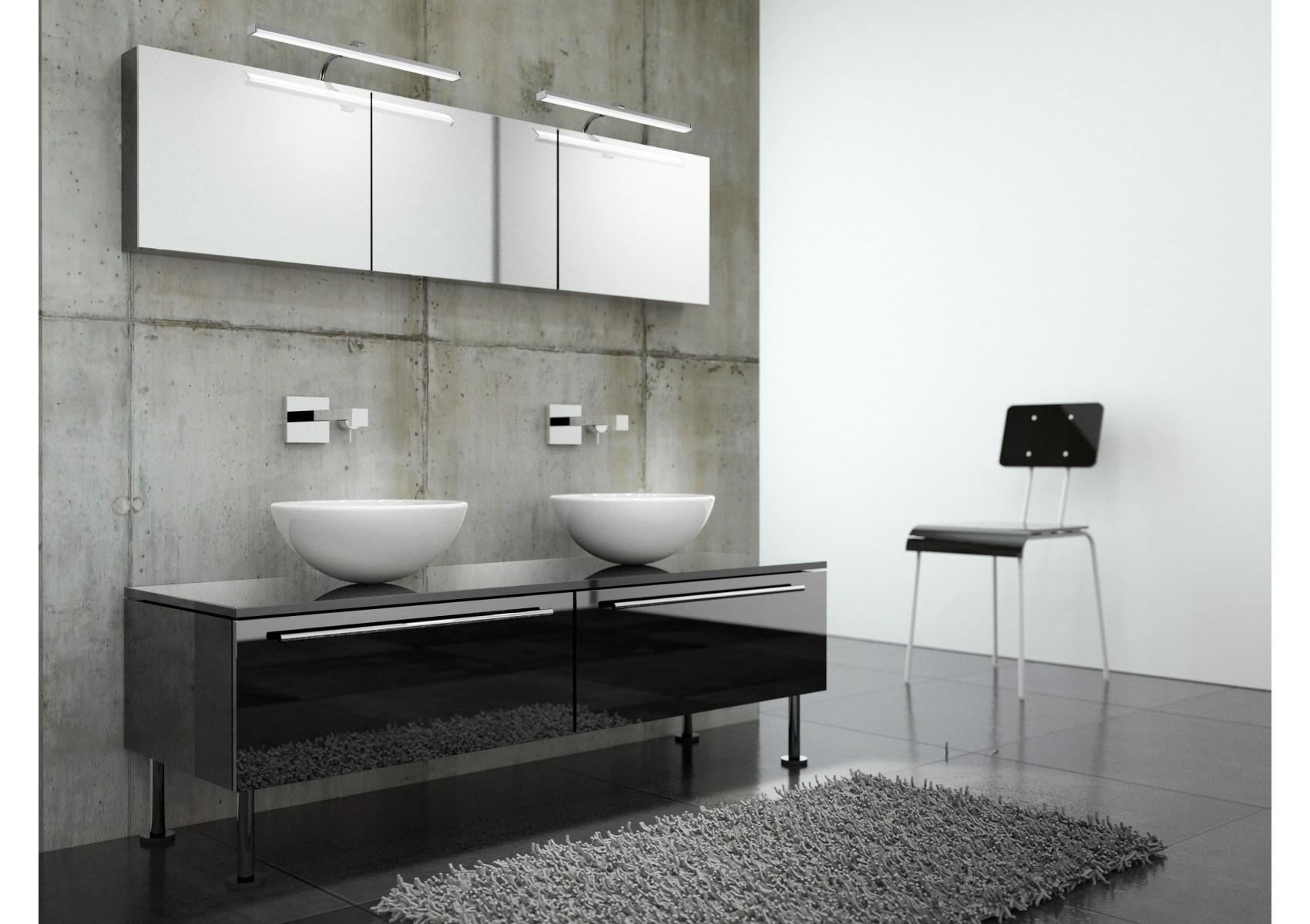 Applique design SISLEY salle de bain et tableau 36 cm - Boite à design