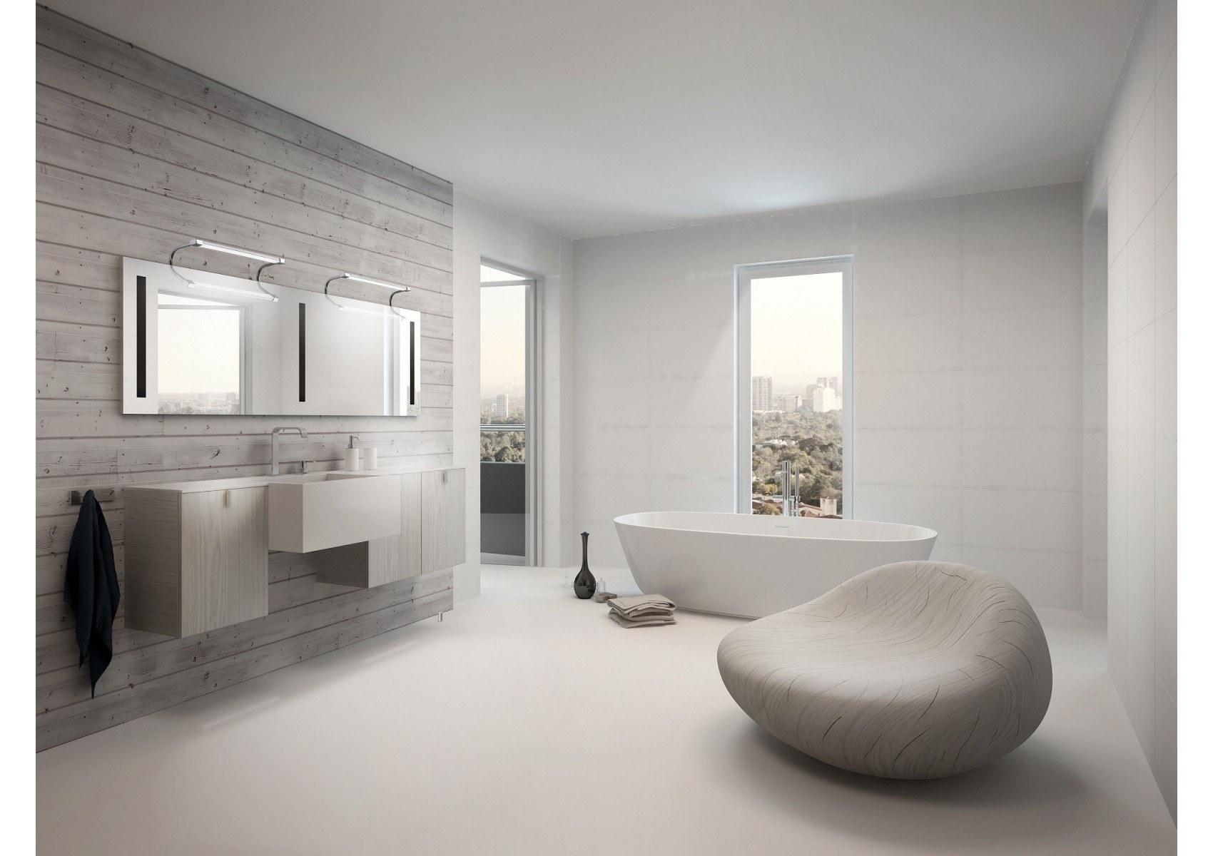 Applique design SISLEY salle de bain et tableau 40cm - Boite à design