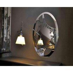 Miroir oval design- Lady Blob
