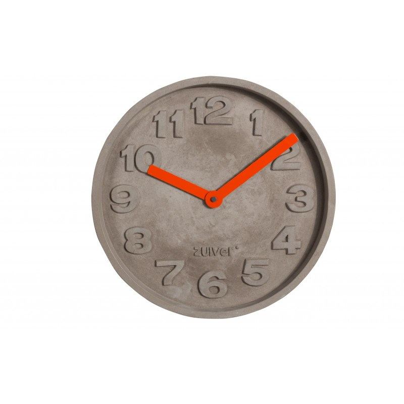 horloge concrete time design