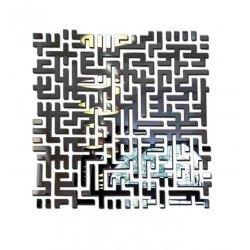 Miroir carré design et original - Lost