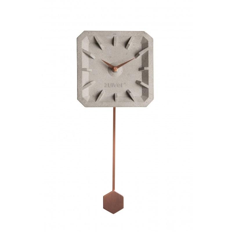 horloge design ticktak time beton Zuiver