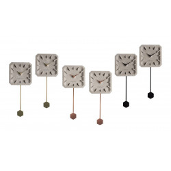 horloge design ticktak time beton Zuiver