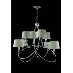 Suspension Mara blanche 8L design mantra