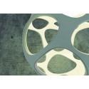 Grande suspension ronde design Organica