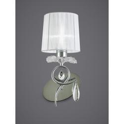 Applique baroque deux lampes Louise