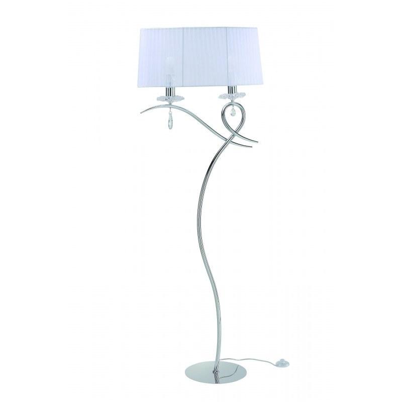 Lampe baroque deux lampes Louise