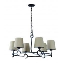 Lustre design espagnole six lampes Argi