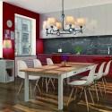 Grande lampe de table design espagnole Argi