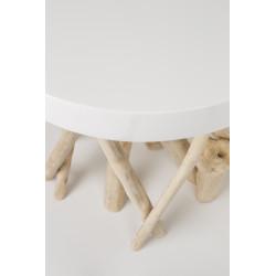 Tables basses scandinave cumi bois de manguier