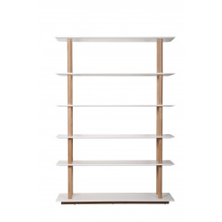 Étagères scandinave bibliothèque HIGH ON WOOD BOOKSHELF