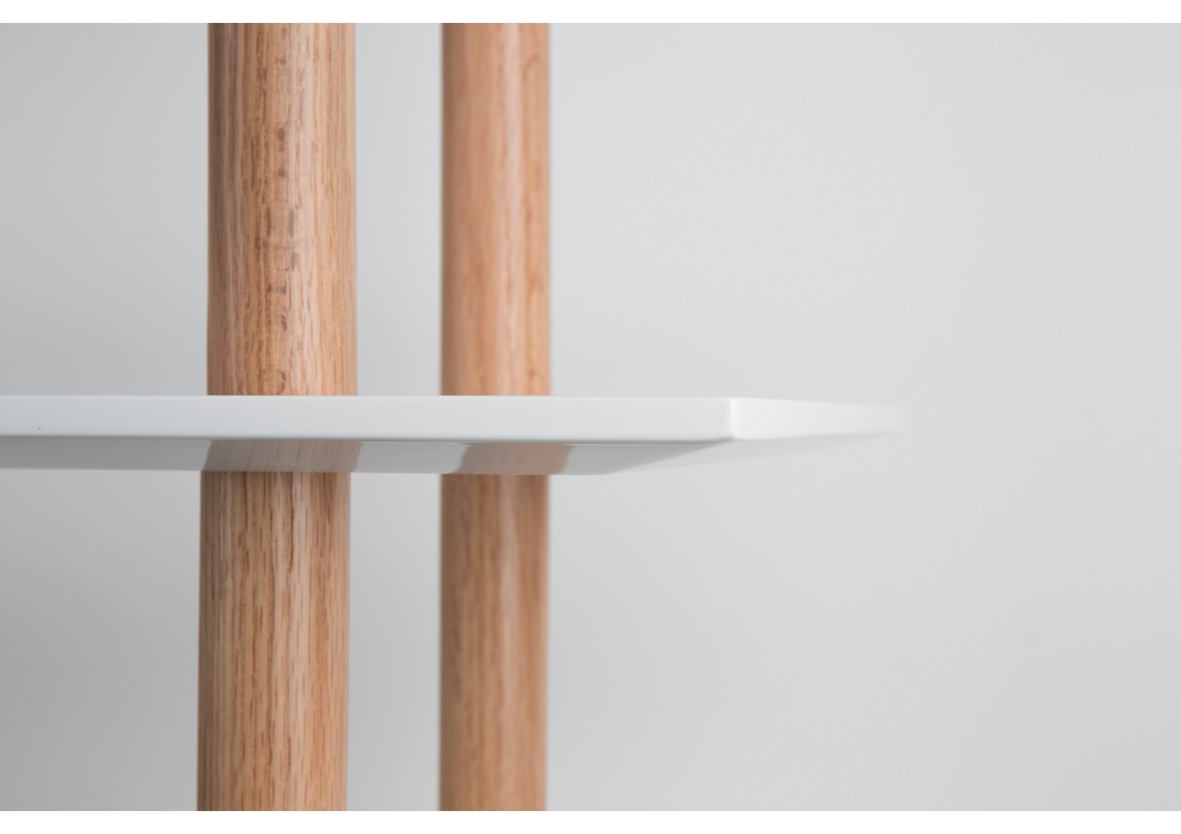 Étagères scandinave bibliothèque high on wood bookshelf - boite à design