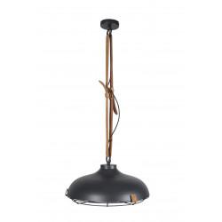 Suspension design DEK en métal et cuir 51 cm -  deco zuiver